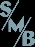 SMB Initial Blaugrau